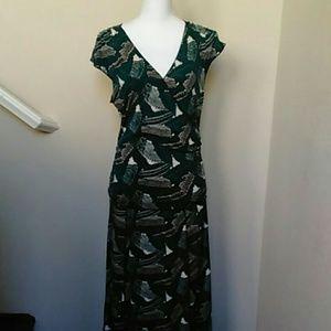 EUC Studio M Knit Midi Dress Sz L